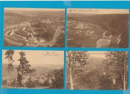 BELGIË Le Herou, Sainte Ode, Rochehaut, Poupehan, Frahan, Corbion, Lot Van 60 Postkaarten. - Cartes Postales
