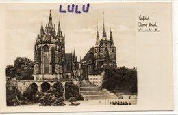 ALLEMAGNE : Erfurt Dom Imd Severikirche ; Echte Fotografie - Erfurt