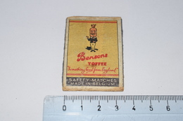 Bensons Toffee Something Good From England Bonbon - Boites D'allumettes - Etiquettes