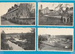 BELGIË Neufchâteau, Tenneville, Florenville, Orval, Chiny, Arlon, Martelange, Lot Van 64 Postkaarten. - Cartes Postales