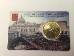 Coin Card 6 Vatican 2015 Pape François - Vatican