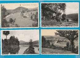 BELGIË Herbeumont, Saint Hubert, Hotton, Lot Van 60 Postkaarten. - Cartes Postales