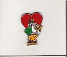 LUNCHGARDEN - Club Charlie - Hartje - Coeur - Heart - Badges