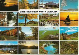 NC - North Carolina  16 MINIVUES SMOKY MOUNTAINS LAKE LURE PRICE LAKE ETC - Etats-Unis
