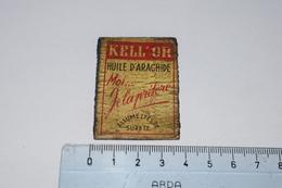Kell'or Huile D'arachide Moi ... Je La Préfère - Boites D'allumettes - Etiquettes