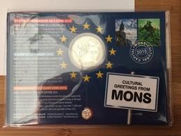 5€ Pièce 5 Euros Mons Capitale Culturelle Européenne 2015 - Belgique Belgium - Vatican