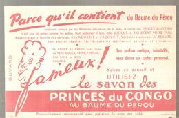 Buvard PRINCES DU CONGO AU BAUME DU PEROU - Perfume & Beauty