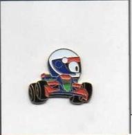 Cartoon Racewagen - BD Race Car - Badges