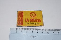 Allumettes De Sureté La Meuse Ses Bières Fines Seita - Boites D'allumettes - Etiquettes