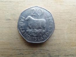 Falkland  20  Pence  2004  Km 134 - Falkland
