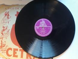 Cetra   -   1958.  Serie AC  Nr. 3387  - Carla Boni. Gino Latilla.  C. Angelini - 78 T - Disques Pour Gramophone