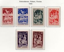 Tunisie YT 396-401 XX/MNH - Tunisia (1888-1955)