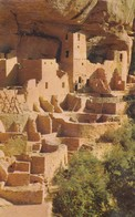 CLIFF PALACE (Indian Homes) , Mesa Verde National Park , 50-60s - Native Americans