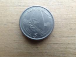 Ile De Man  5  Pence  1991 Ab Km 209.2 - Regionale Währungen