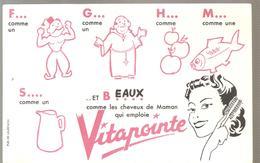 Buvard Vitapointe Beaux Comme Les Chevaux De Maman Qui Emploie VITAPOINE - Parfums & Beauté