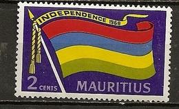 Maurice Mauritius 1968 Independence Drapeau Flag MNH ** - Maurice (1968-...)