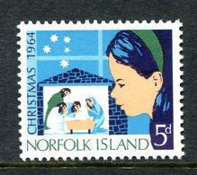 Norfolk Island 1964 Christmas MNH (SG 57) - Ile Norfolk