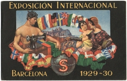 CPA DE BARCELONA  (ESPAGNE)  EXPOSICION INTERNACIONAL    BARCELONA  1929-30 - Barcelona