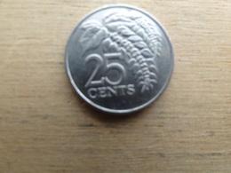 Trinite & Tobago  25  Cents  1983  Km 32 - Trinité & Tobago