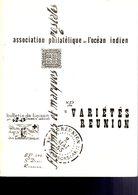 APOI : 1967 : Etude De Varietes De Surcharges Sur Timbres De Reunion 1860 Jusqu à CFA(RARE) - Specialized Literature