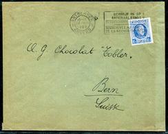 BELGIQUE - N° 257 / LETTRE AVEC O.M. D'ANVERS LE 14/8/1929 POUR LA SUISSE - TB - 1922-1927 Houyoux