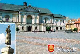 73176326 Klaipeda Theatre Square Paminklas S. Dachui Skulptura Anike Is Taravos - Litauen