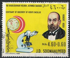Somalie 1982 Oblitéré Used 100 Ans Découverte Du Bacille De Koch Microscope Robert Koch - Somalie (1960-...)