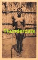 CPA RUANDA JEUNE FILLE EN COSTUME NATIONAL FILLE NU NUE NUDE GIRL LADY - Ruanda-Urundi