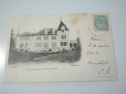 ...cpa LE BOST À BLACE..G.Belin, Villefranche...voyagee 1903... - France