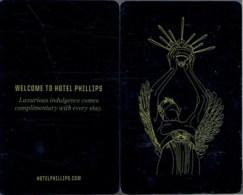 Hotel Phillips Kansas City--2030 USA   Hotel Room Keycard, Room Keys, Hotelkarte, Clef De Hotel - 2030 - Cartes D'hotel