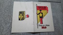 Brochure Selo Le Superfilm Histoire De La Pellicule Selo Publicité Photographie Conseils - Photographs