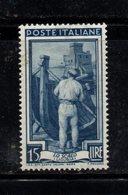 XP2658 - REPUBBLICA 1950 LAVORO Ruota  , 15 Lire N. 641  Nuovo ***  Ruota 3 DB - 6. 1946-.. Repubblica