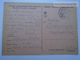 ZA165.28  Hungary  WWII  - Dr. Szepes László  - KASSA 551 Hadikórház  -  TP  257-01  Tábori Postai Levelezőlap  -  1943 - Covers & Documents