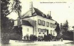 Carte  Postale  Ancienne De Les CHEZEAUX  LOGIS Par SAINT GAUTHIER - France