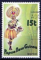 PAPUA NEUGUINEA Mi. Nr. 535 O (A-2-34) - Papouasie-Nouvelle-Guinée