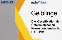 MICHEL 1.Auflage Post-Karten Österreich 2018 New 15€ Gelblinge Ganzsachen Catalogue Cards Austria 978-3-95402-234-2 - Postal Stationery