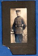 Photo --  Soldat Allemand --abimée - Guerre, Militaire