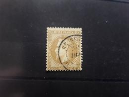 Empire Lauré No 28 Obl Cachet à Date BESSEGES , Gard , TB - 1863-1870 Napoléon III Lauré