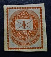B2920 - Hungary - 1874 - Mich. - 20A - MLH - Hungary
