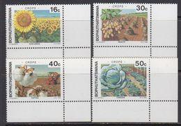 Bophuthatswana 1988 Agricultural Crops 4v (corners) ** Mnh (41695) - Bophuthatswana