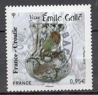 FRANCE 2018 - Timbre - Emission Commune - France Croatie Oblitéré Cachet Rond - France