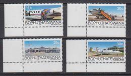 Bophuthatswana 1986 BOP Airways 4v (corners) ** Mnh (41695A) - Bophuthatswana
