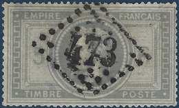 France Napoléon Lauré N°33 Oblitération GC 473 Biarrits (64) Très Bel Aspect Mais Clairs Importants Cote Yvert : 1150 € - 1863-1870 Napoléon III Lauré