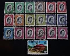 B2923 - Grenada - 1953-59 - Mich. - 164-169-621 - Grenade (1974-...)