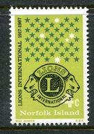 Norfolk Island 1967 50th Anniversary Of Lions International MNH (SG 91) - Norfolk Island