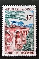 VIADUC DU MAYOMBE 1968 - NEUF ** - YT 219 - MI 152 - Congo - Brazzaville