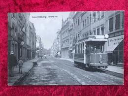 Luxembourg Grand Rue Mit Tram . - Luxemburg - Town