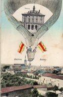 57 BOULAY Carte Fantaisie Ballon 4 Vues - Boulay Moselle