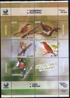 PARAGUAY, 2018, MNH, BIRDS, SHEETLET - Birds