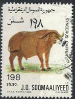 Somalie 1989 Used Animal Syncerus Caffer Buffle D'Afrique - Somalie (1960-...)